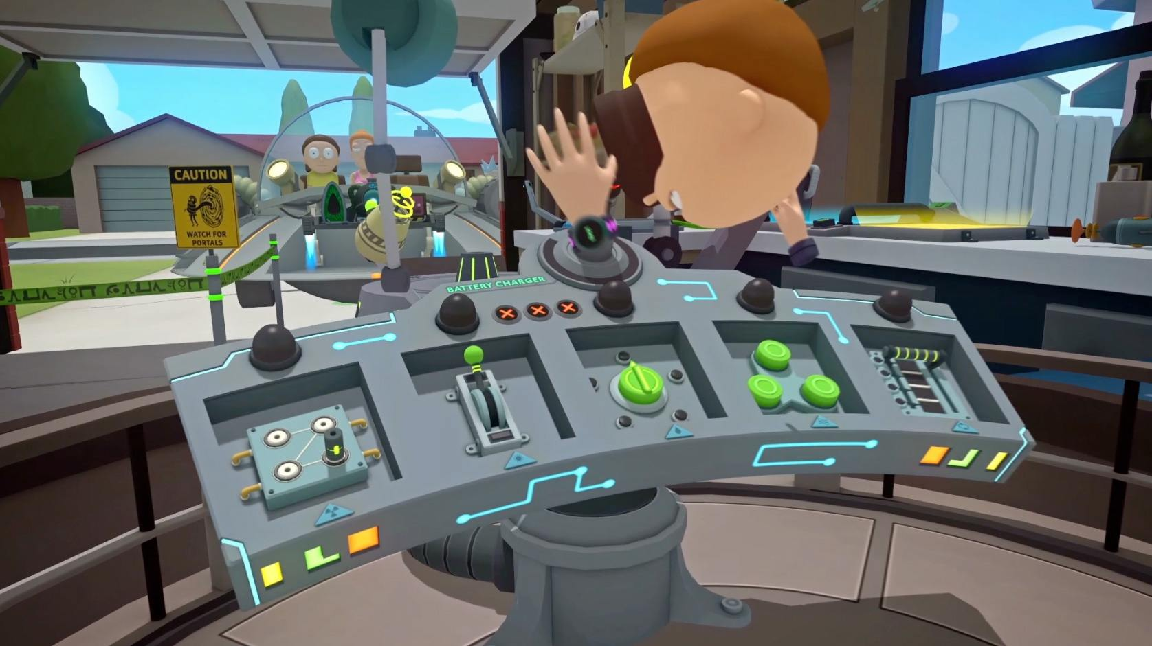 『Rick and Morty VR』のミクロ宇宙バッテリー