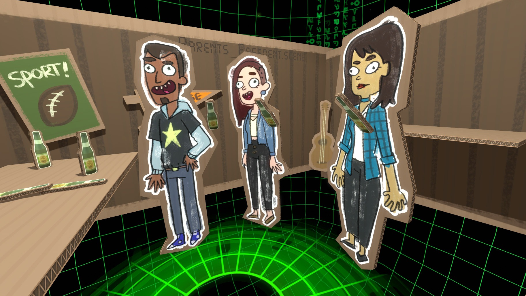 『Rick and Morty VR』のトロイ