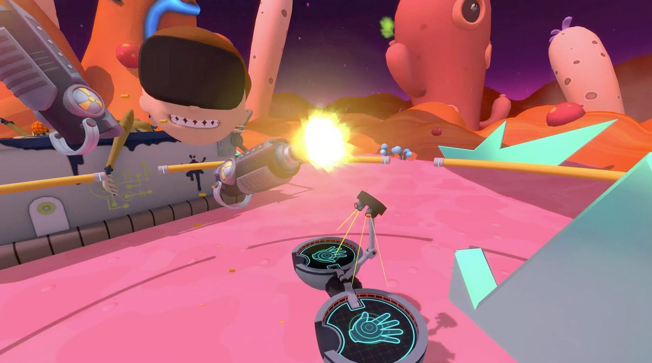 『Rick and Morty VR』の射撃