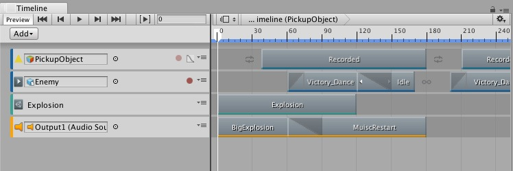Unity-AR-Timeline-multitrack-sequencer
