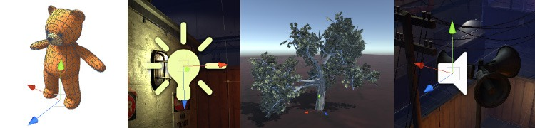 unity game object example