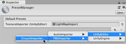 Preset Manager