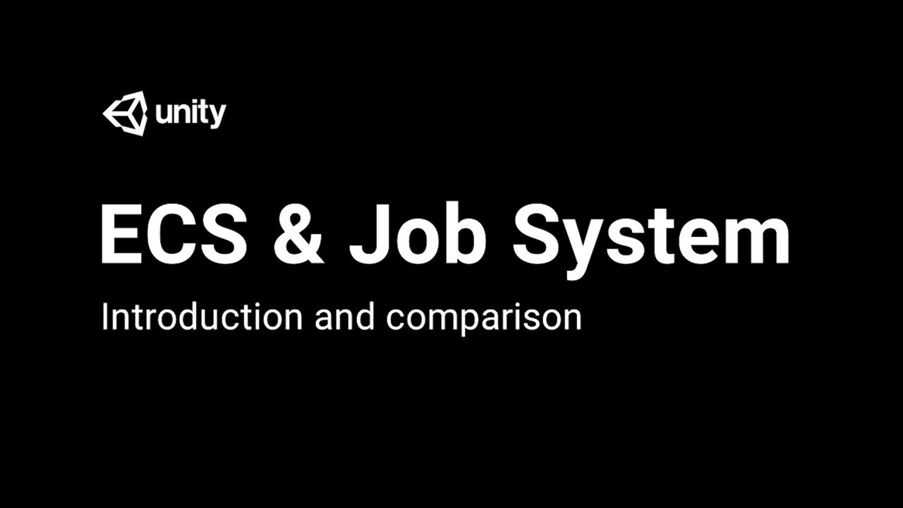 Intro To The Entity Component System And C# Job System
