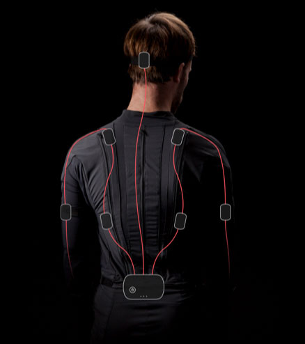 An entire motion-capture studio in one wireless suit