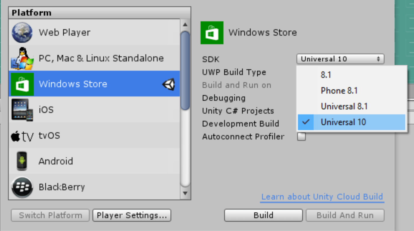 Microsoft - Porting guides - Unity