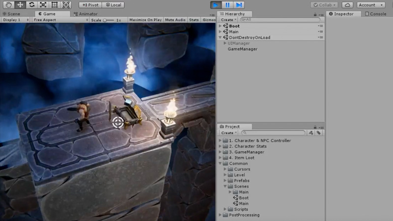 Unity Game Dev Courses Swords And Shovels Unity - Free game design course