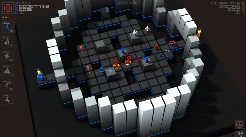 Getting up-close and rectangular with 3 Sprockets? iOS hit Cubemen