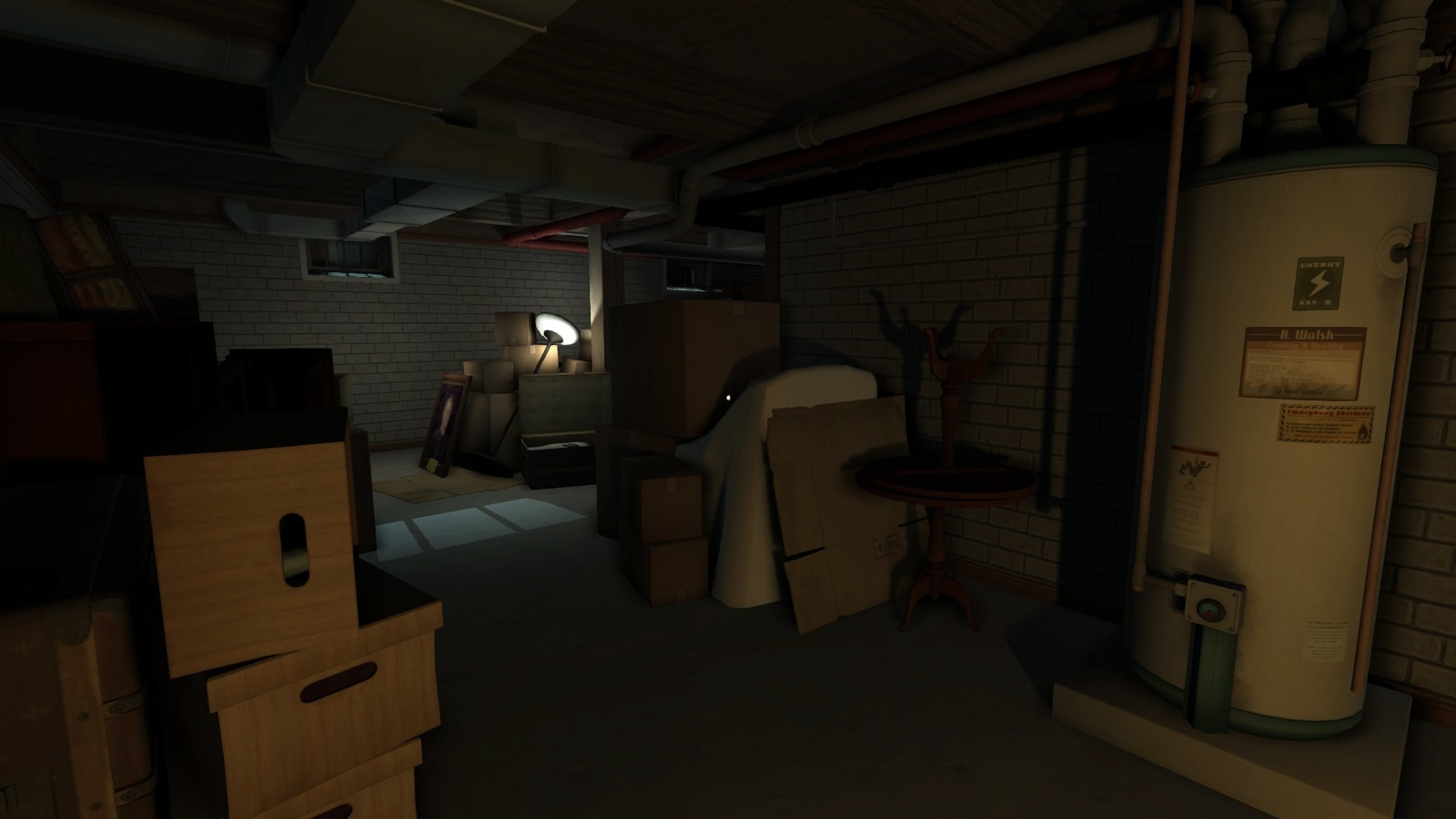 how to show digging underground background unity 3d