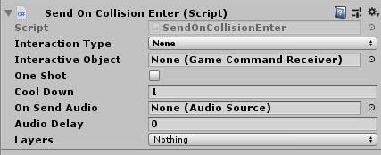 Gameplay Components - Unity