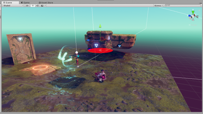Damaging with Objects in 3D Game Kit - Unity