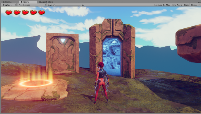 Teleporting the Player in 3D Game Kit - Unity