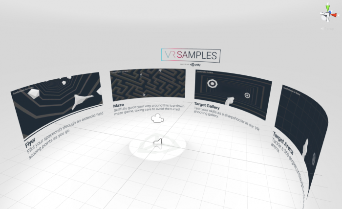 User interfaces for vr unity for Unity 3d room design