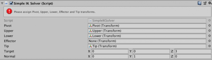 Getting Started with IK - Unity