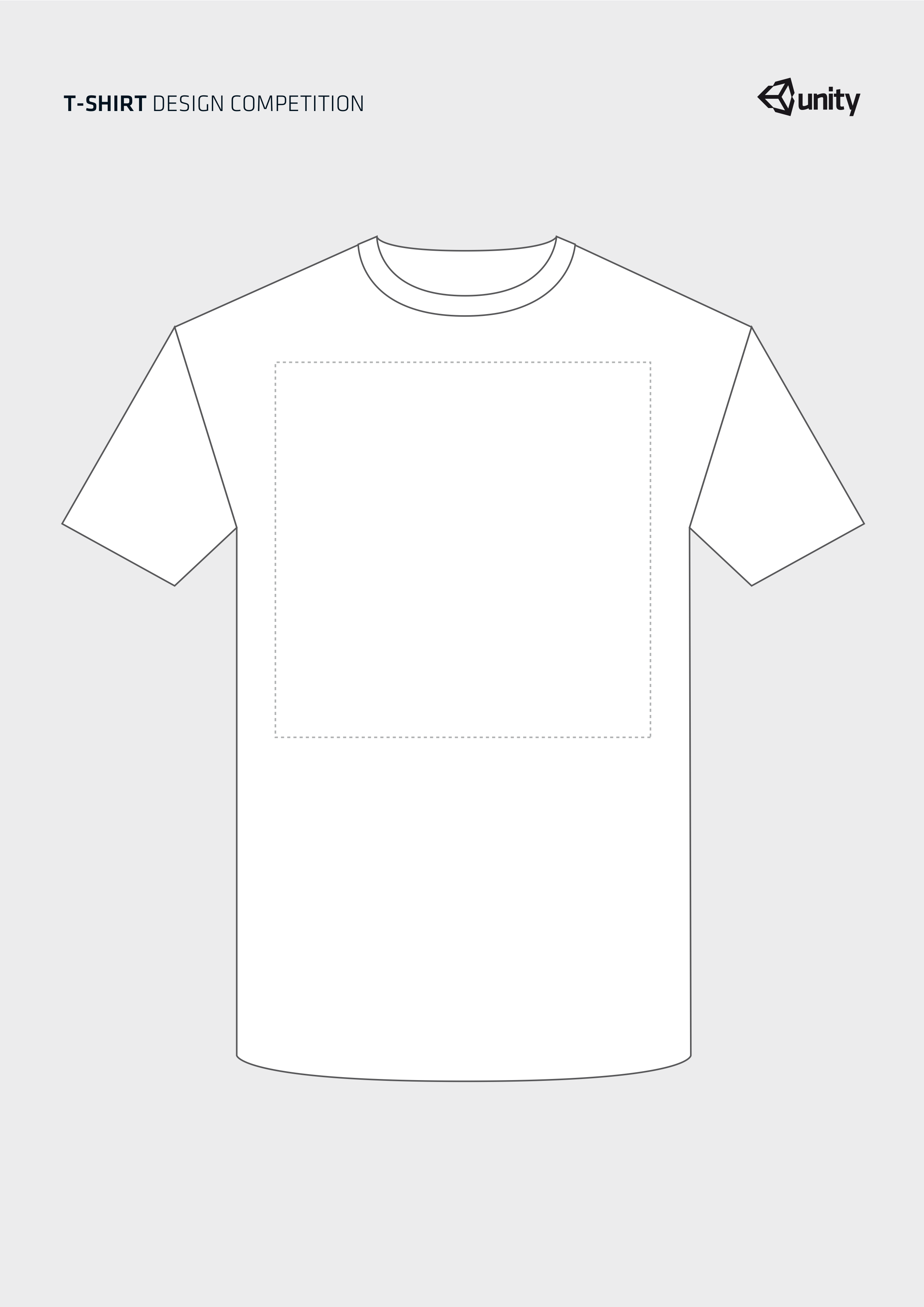 Unity terms and conditions t shirt design contest t shirt template pronofoot35fo Gallery